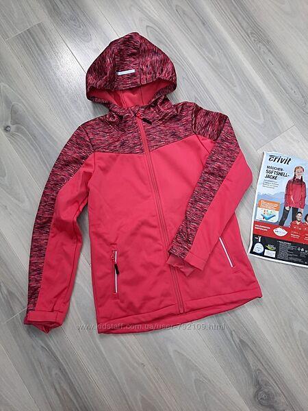 Softshell термо куртка ветровка Crivit и Crane 122/128, 134/140 см, софтшелл