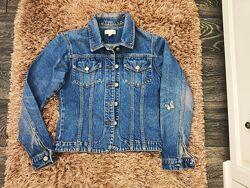 Джинсовка пиджак ветровка