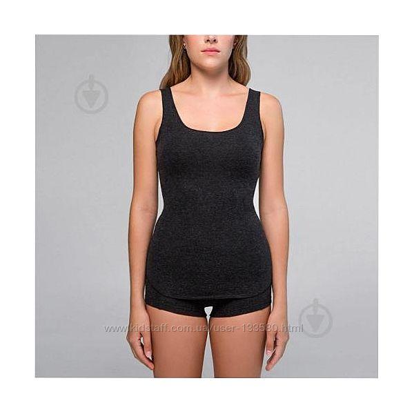 Термобелье женское, майка и шорты Hetta 50 процентов  шерсти.