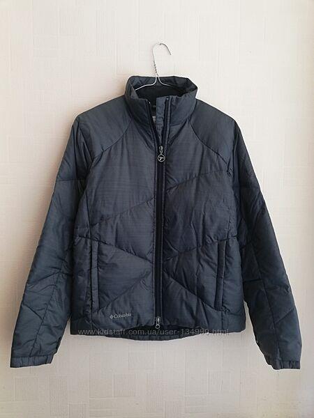 Демисезонная куртка пуховик Columbia titanium S в идеале, после химчистки