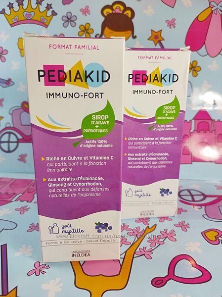 PEDIAKID Сироп для укрепления иммунитета  Immuno-fort