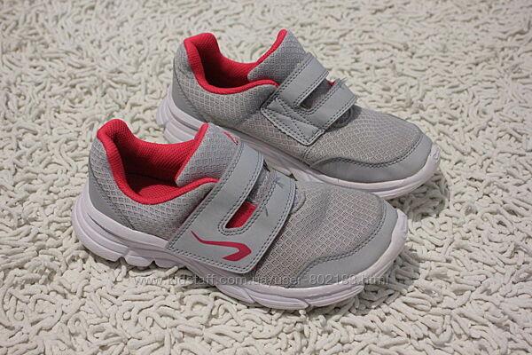 Фирменные кроссовки на девочку Kalenji Decathlon размер 34 22,5 см