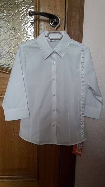 Рубашка M&S на 7-8 лет