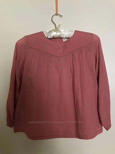 Блуза Mango для девочки 7-8 лет 128 см