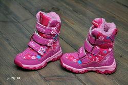 Термоботинки ботинки сапоги GFB - termo Каприз. р. 25, 26, 27, 28, 32, 35 .