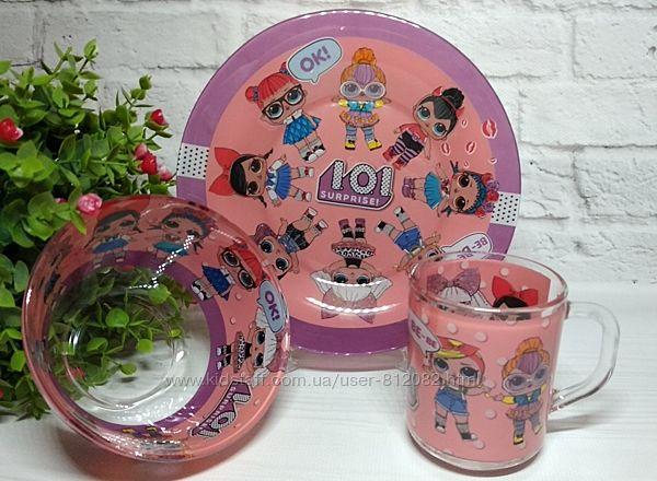 Набор посуды для девочек куклы Лол LOL Подарок