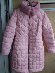 Куртка пальто розовая S. Xueqiр демисезон