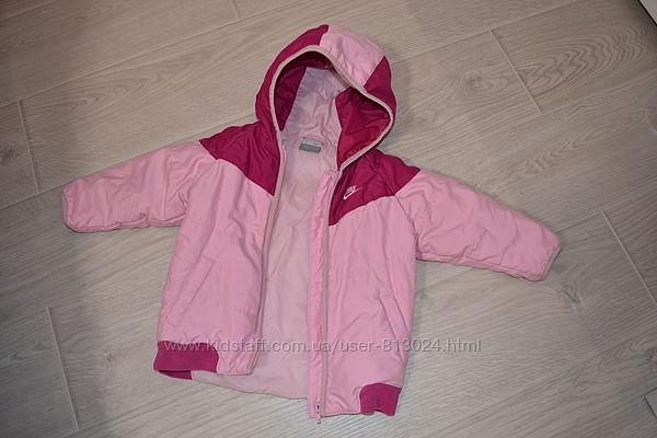 Демисезонная детская курточка Nike на 1,5 - 2 года