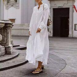 Платье из батиста 100 хлопок, легкое, тонкое, размер ХС-10ХХЛ