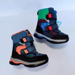 Детские зимние термо ботинки Том. м р. 23-30 для мальчика новые