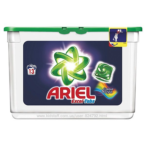 Ariel Tabs Color & Style 13 капсул