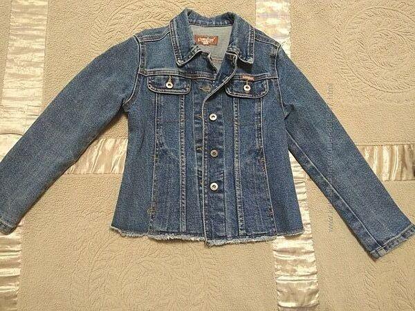Джинсовый пиджак Gloria Geans 7-8лет.