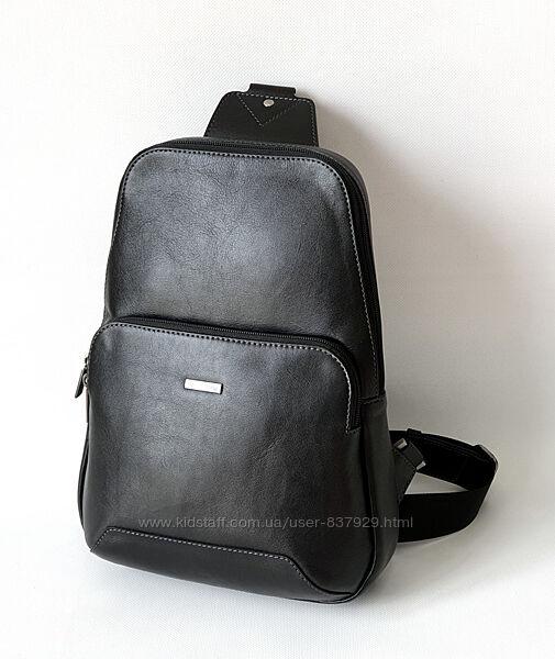 Кожаная мужская сумка-рюкзак Franco Cesare. Италия.