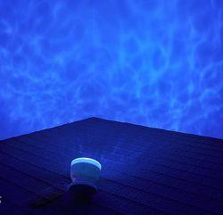 Ночник проектор аудиосистема Океан 3 в 1 всё в комплекте