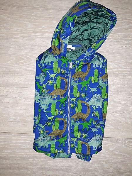 Яркая, легкая куртка Miniclub на 12-18 мес