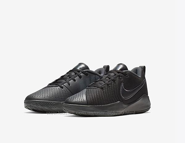 Оригинал Детские баскетбольные кроссовки Nike, 37, 38 кожа