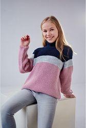 Вязаные свитера для девочек ТМ Лютик, ТМ Бемби