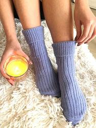 Тёплые женские носки из хлопка и шерсти, 12 оттенков. Акция 113. Турция