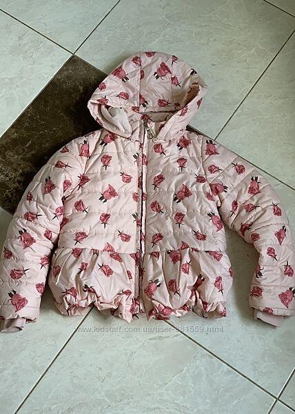 Куртка для дівчинки демі