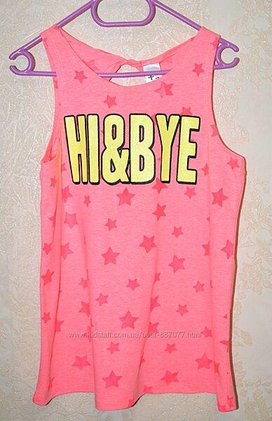Новая футболка для девочки 146