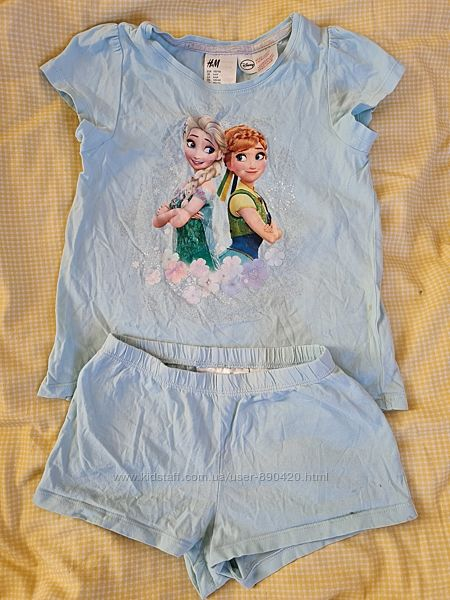 Пижамка Н&М размер 4-6 лет