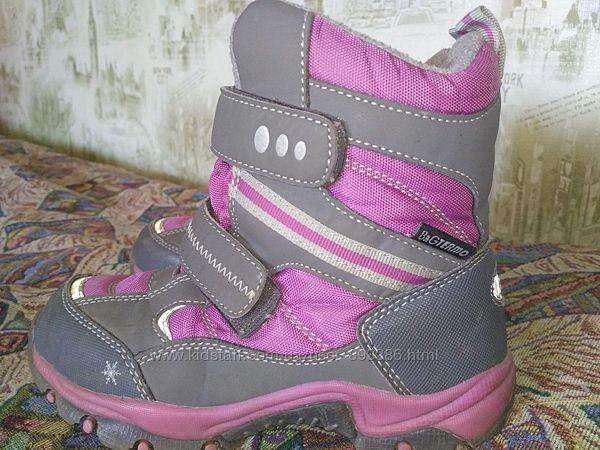 Зимние термо сапожки ботинки b&g 30р. , стелька 18,8-19 см