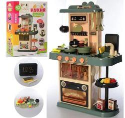 Кухня 889-183, 43 предмета, подсветка, звук, мелодии, течет вода, пар