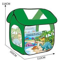 Детская игровая палатка Play Smart 8009 салатовая Динозавр