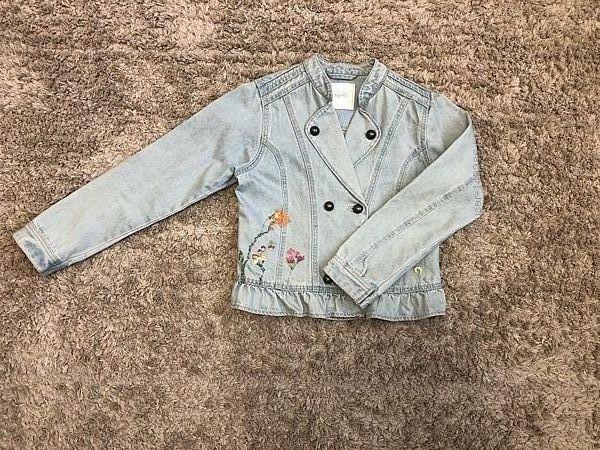 Джинсовая куртка Next 11 лет рост 146 см