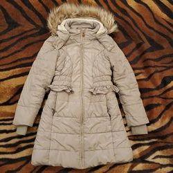 Продам пальто на меху осень зима