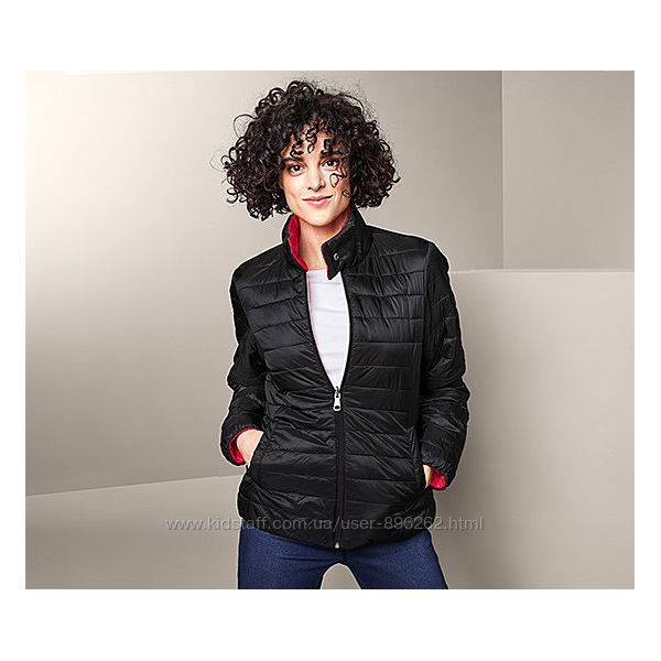 Двухсторонняя стеганая женская куртка, курточка от tcm Tchibo чибо, L-XL