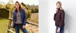 Двухсторонняя стеганная деми курточка, куртка от тсм чибоtchibo, XS-S, L-XL