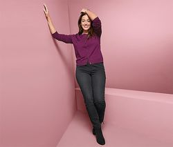 Стильные женские джинсовые треггинсы, брюки от tcm tchibo чибо, германия, S