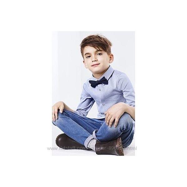 Стильная хлопковая рубашка для мальчика от тсм Tchibo чибо, Германия
