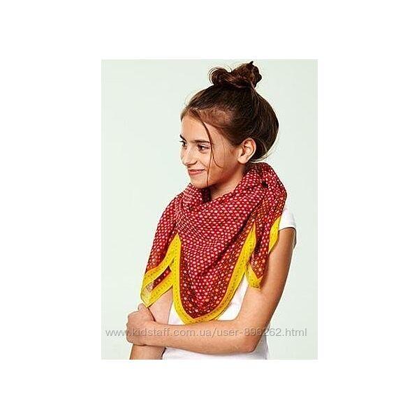 Яркий платок-шарф-косынка в звезды от тсм Tchibo чибо, Германия