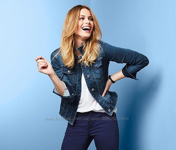 Стильная качественная джинсовая куртка, курточка от tcm Tchibo чибо, L-XL
