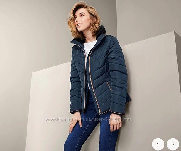 Шикарная стеганая женская деми куртка, курточка  от tcm Tchibo чибо, L-3XL
