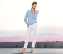 Стильные брюки, джинсы моделирующие фигуру длиной 7/8 от тсм Чибо Tchibo