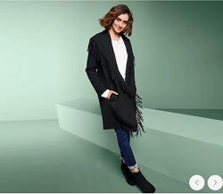 Стильное женское шерстяное пальто, кардиган от tcm Tchibo чибо, укр 54-58