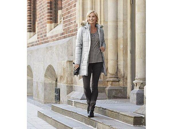 Стильное женское демисезонное стеганое пальто от Esmara, Германия, XS-S