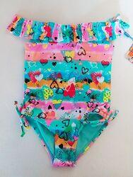 Слитный купальник для девочки есть размеры