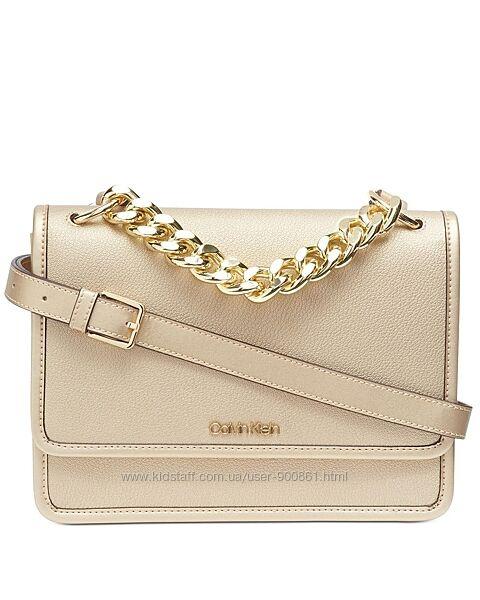 Сумка кожаная Calvin Klein Ariela crossbody H9JECMG1 оригинал. 2300 отзывов