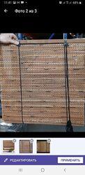Бамбуковые ролеты-шторы.