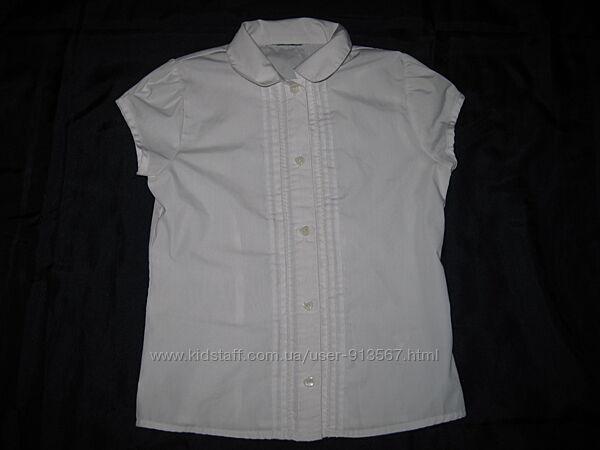 Школьные рубашки для девочки 7-8 лет 122-128 см