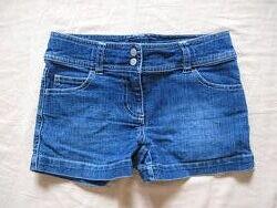 Шорты джинс на девочку 7-8 лет 122-128 см