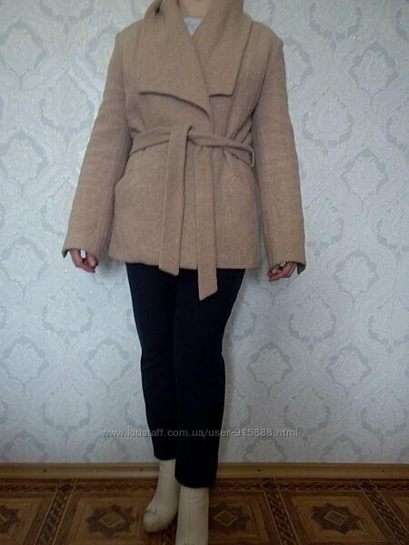 Модное пальто букле