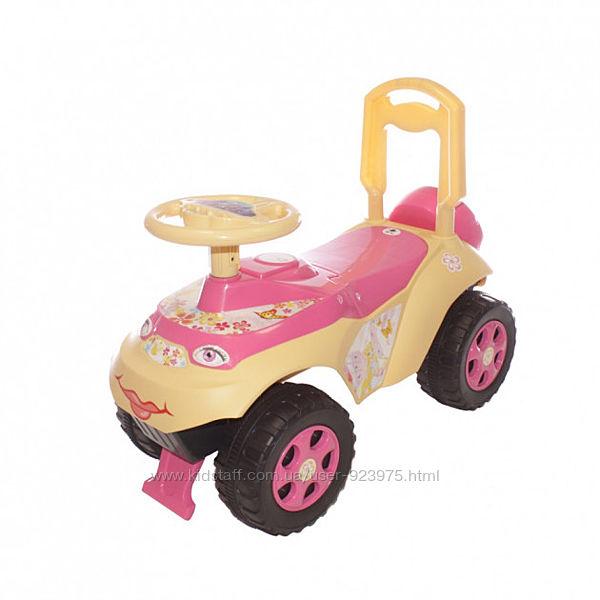 Машинка толокар детская, ТМ Долони, новая, с музыкой и без