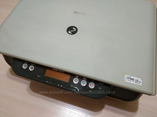 Принтер/ сканер/ копир Кенон PIXMA MP110, в ремонт или на запчасти