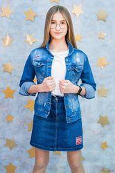 Джинсовая куртка для девочки Altun