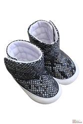 Пинетки-ботинки для девочки Papulin